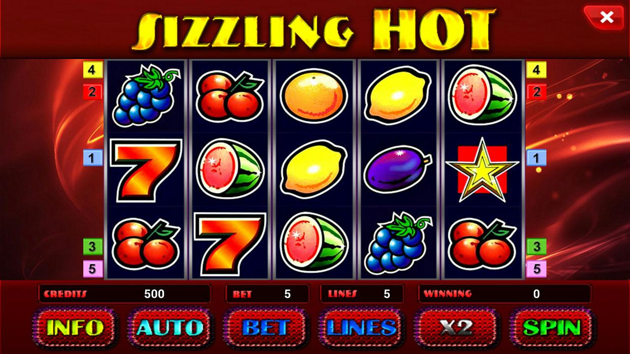 Sizzling Hot Slot Games